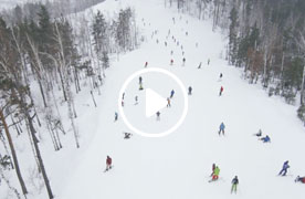 Sunny Valley c воздуха 2014-2015